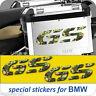 2 Adesivi CAMO WOODLAND Moto BMW R 1200 1150 1100 800 650 gs valigie adventure