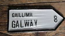 Galway City/County Irish Road Sign Replica Hand Made in Ireland. IN STOCK