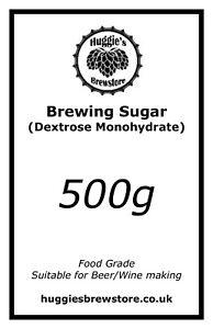 Brewing Sugar 500g For Home Brewing Beer-Wine-Cider-Spirit- Dextrose Monohydrate