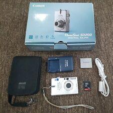Canon PowerShot Digital ELPH SD200 3.2MP Digital Camera 2 GB Memory Card Tested