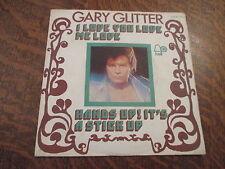 45 tours gary glitter i love you love me love