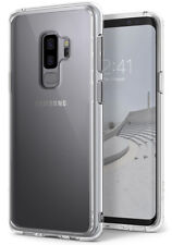 Coque Galaxy S9 Plus Ringke Fusion transparente PC TPU Bumper avec Absorption