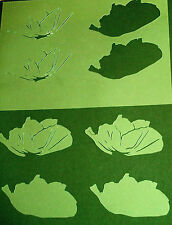 POPPY Airbrush Free Hand Stencil Mask Template Textile Paint Craft