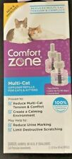 Comfort Zone Multi-Cat Diffuser Refill For Cats & Kittens - 2 Pack
