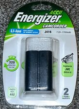 Energizer Li-ion J416 7.2V 1700mAh Rechargeable Battery - JVC BNV416