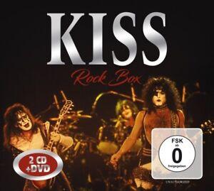 KISS - ROCK BOX  2 CD+DVD NEUF