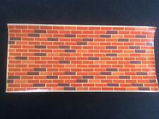 Vintage Juneero Model Makers Transfer Brick Wall Railway Modelling Enthusiast