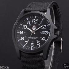 Men's Army Watch Date Stainless Steel Military Sports Analog Quartz Wrist Watch