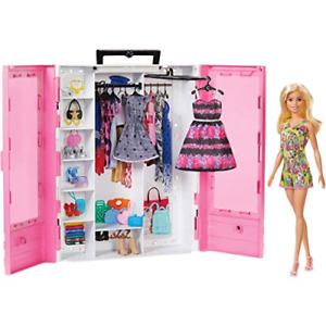 Barbie Fashionistas Ultimate Closet Portable Fashion Toy with Doll, Clothing, 3
