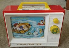 Vintage Fisher Price Giant screen-Music box tv