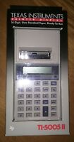 Texas Instruments Ti-5005 II Printer Display New in Box NIB Calculator Machine