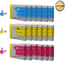 18 COLOR LC51 HIGH YIELD LC51 C M Y Ink Cartridge Compatible for BROTHER Printer