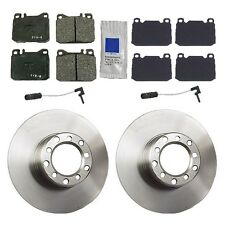 Mercedes W123 1979-1983 240D 123.123 From 150315 ATE Front Brake KIT Rotors Pads