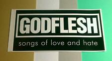 GODFLESH SONGS OF LOVE AND HATE BLACK WHITE EARACHE NY Guitar Case STICKER