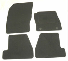 Tailored Black Car Floor Mats for FORD FOCUS mk3 march 2011 onwards B2329 new