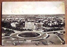 Rimini - Grand Hotel e piazzale dall'aereo [grande, b/n]