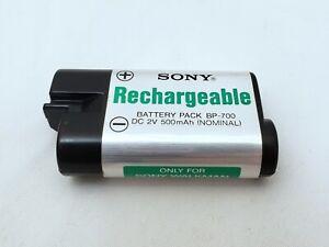 Sony Rechargable Battery Pack BP-700 DC 2V 500mAh (NOMINAL) for Sony Walkman