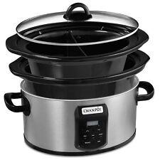 Crock-Pot Multi Bowl 5.6L Slow Cooker CSC0504 Multi-Pot Cooker NEW