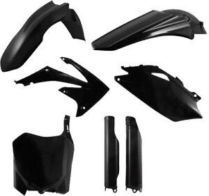 Acerbis Full Plastic Kit Black HONDA CRF250R 2010-2013,CRF450R 2009-2012;