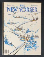 COVER ONLY ~ The New Yorker Magazine, December 8, 1986, Arthur Getz