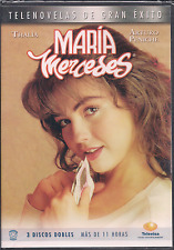 Mega rare TELENOVELA Maria Mercedes THALIA +11 horas 3dvds NTSC ESPAÑOL Region 1