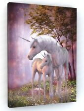UNICORN CANVAS PICTURE PRINT WALL ART LARGE 20 x 30 inch