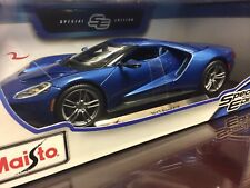 *SALE* Maisto 1:18 Scale Special Edition Diecast Model Car - 2017 Ford GT (Blue)
