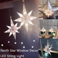 AU North Star LED String Fairy lights Window Decor Lamp Christmas Decoration