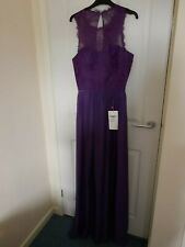 Bridesmaid Dress, Size 10, Purple, For Her and For Him