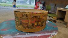 Vintage Dobbs Fifth Avenue Hats New York Hat Box 1930s Art Deco