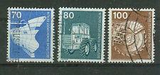 Berlin Briefmarken 1975 Industrie und Technik Mi.Nr.500-502