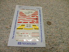 Microscale  decals 1/72 72-254 F-100 Super Sabres 354th TFW 494TFS 48TFW    N113