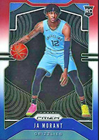 Red White Blue Prizm CHOOSE ANY Basketball Cards Complete Your Set 2019-20