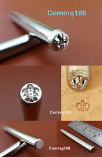 1pc Steel Leather Craft Master Stamping Stamp Punch Stamper Carving Tool NEW