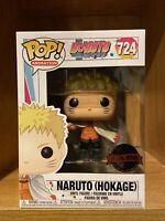 Funko Pop Naruto Hockage #724 Boruto : Next Generation Special Edition Mint W/PP