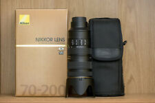Nikon Nikkor 70-200mm F/2.8G ED IF AF-S VR II Autofocus Lens 2.8 Great Condition