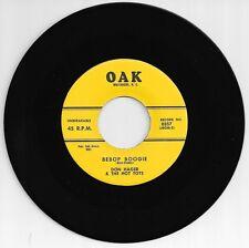 "DON HAGER ""Bebop Boogie""/""I Love You, Dear, Forever"" Oak 0357 ROCKABILLY #@&"