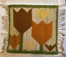 Vintage Handmade Small Fringed Rug, Kilim Kiokusy, Janouslia, Salamon