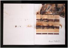 Bernard Aubertin fiammiferi e conbustioni su libro 31x45 archiviato