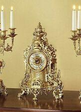 Markenlose Tisch-, Kamin- & Reiseuhren aus Messing