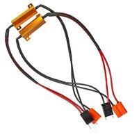 H7 50W LED Resistor Decoder Error Free Canbus for DRL Head Fog Light Spot Bulbs