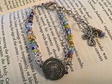 MultiColor Beaded Silver Color Ladies Bracelet Tree Southern Hills Baptist Tulsa