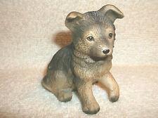 Vintage Ceramic Porcelain German Shepherd Puppy Dog Figurine Homco 8828 Sri Lank