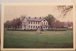 Nebraska NE Historical Society Fort Robinson Post Headquarters Postcard Old View