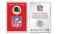 CHICAGO BEARS NFL Helmet JFK Half Dollar U.S. Coin w/ NFL Display Case LICENSED