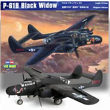 """HOBBY BOSS 1/32 P-61B """"BLACK WIDOW"""" PLUS RESIN COCKPIT-GUNNER * KIT"""