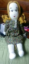 Folk Art Primitive Handmade Vintage Doll Toy So Cute Crafts Woman Girl Retro