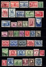 Australia stamps, small collection of 40 classics, mint & used, SCV $93.00