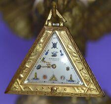 Arbaco Masonic Pocket Watch Triangular, beautiful!