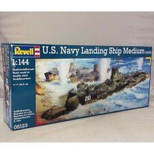 Revell 1:144 05123 U.S.Navy Landing Ship LSM moyen modèle navire Kit